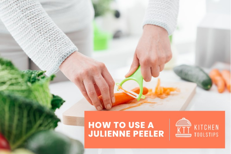 How to Use a Julienne Peeler